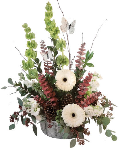 Rustic Moonlight Floral Arrangement