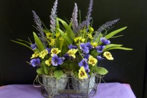 Rustic Pansy Garden SOLD!  in Spring Hill, FL | THE IVY COTTAGE