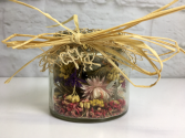 Rustic Potpourri  Small Jar