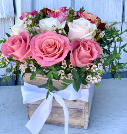 Rustic Rose Box