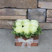 Rustic Rose Compact Rose Arrangement