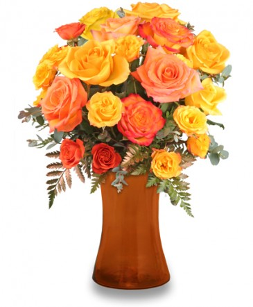 Robust Roses & Mini Roses Bouquet