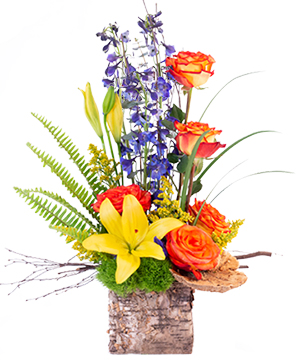 Rustic Roses Flower Arrangement in Biloxi, MS | Rose's Florist