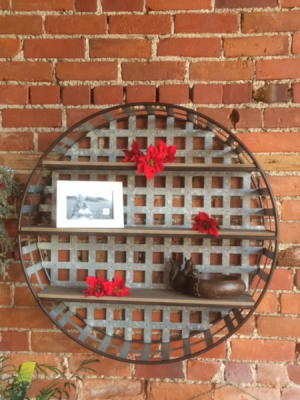 Rustic Shelf   in Fowlerville, MI | ALETA'S FLOWER SHOP