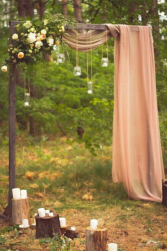 Rustic Simplicity Arch