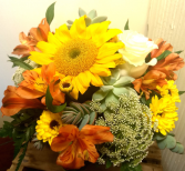 Rustic Sunset arrangement