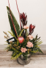 Rustic Tropical Beauty Arrangement