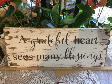 rustic wall sign giftware