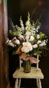 Rustic Whites Lavish Collection Calla Lilies, Hydrangea, Roses