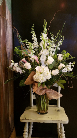 Rustic Whites Lavish Collection Calla Lilies, Hydrangea, Roses in Monument, CO | ENCHANTED FLORIST