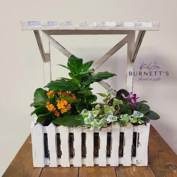 Rustic Window box Planter
