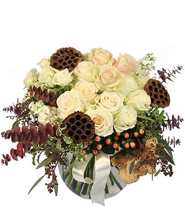 Rustic Winter Floral Design