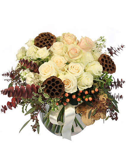 Rustic Winter Floral Design
