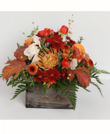 Rustic Wood Fall Arrangement