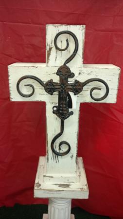 Rustic Wooden Crosses Sympathy