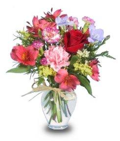 FLOWER GARDEN Get Well Vase