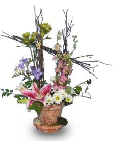 GARDEN TRELLIS Bouquet of Flowers