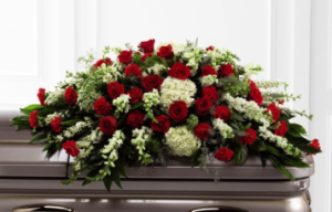 S16-4471P FTD SINCERITY CASKET SPRAY  in Beaufort, SC | CAROLINA FLORAL DESIGN