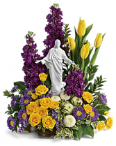 Sacred Grace Bouquet table arrangement