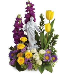 Sacred Grace  Featuring a porcelain sculpture of Jesus