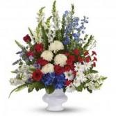 Sacred Memorial Funeral Flowers