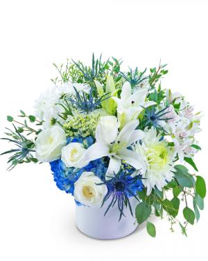 Safe Haven Flower Arrangement in Nevada, IA | Flower Bed
