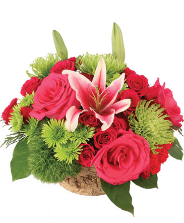 Sage Roses & Stargazers Floral Design