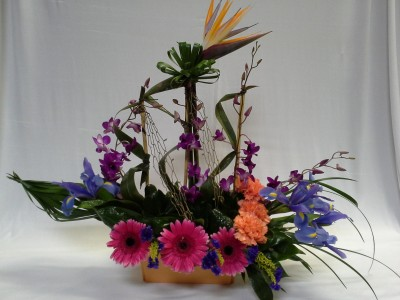 Sailing To Paradise Floral Arrangement In Webster Tx La