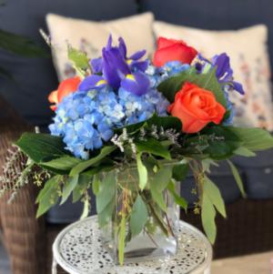 Sailor's Song Vase Arrangement  in Mattapoisett, MA | Blossoms Flower Shop