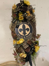 Saints Wreath