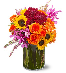 Salsa Flower Arrangment