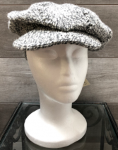 Salt and pepper hat Knit in newfoundland