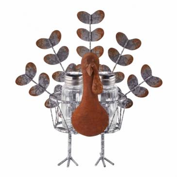 Salt and Pepper Turkey Centerpiece