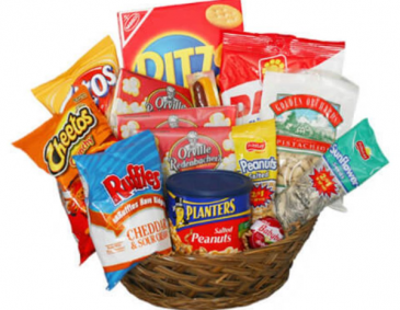 Salty Snacks For Dad Food and Fruit Baskets