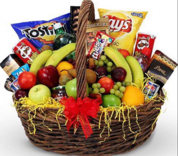 Salty & Sweet For Dad Food and Fruit Baskets