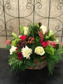 Winter Holiday Basket