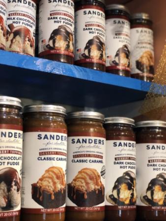 Sanders Dessert Topping