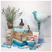 Sandy Beaches Spa Gift Basket