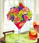 Sangria Bouquet All Around