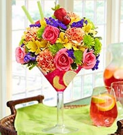 Sangria  fresh flowers