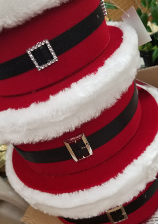 Santa Belt Hat Boxes Gift items