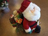 Santa in his Sleigh Artificial