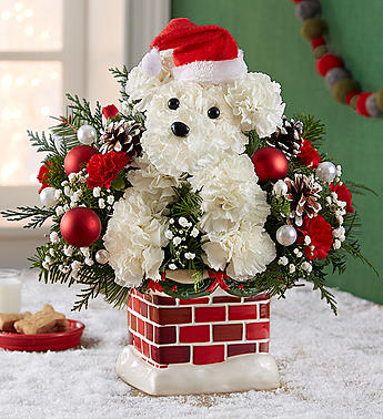 Santa Paws ™ Chimney Arrangement