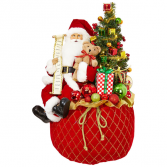 Santa With Toy Bag Gift Item