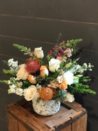 Santaquin Sunset Flower Arrangement