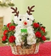 Santas Best Reindeer Basket