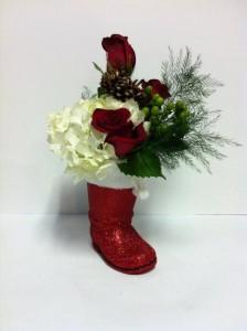 Santa's Boot  in Port Huron, MI | CHRISTOPHER'S FLOWERS