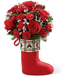 Santas boots Christmas