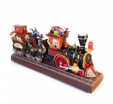 Santa's Express Mr Christmas Music Box