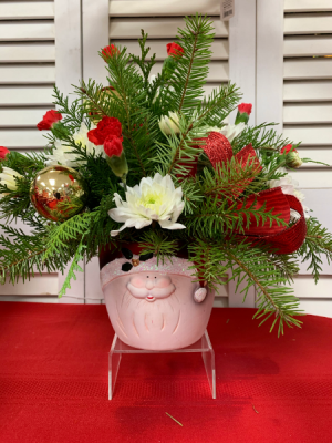 Santa's Head Christmas 2020  in Berwick, LA | TOWN & COUNTRY FLORIST & GIFTS, INC.